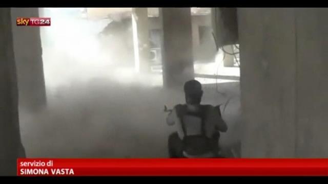 Siria, feroci combattimenti nel suk di Aleppo