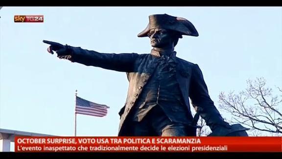 October surprise, voto Usa tra politica e scaramanzia