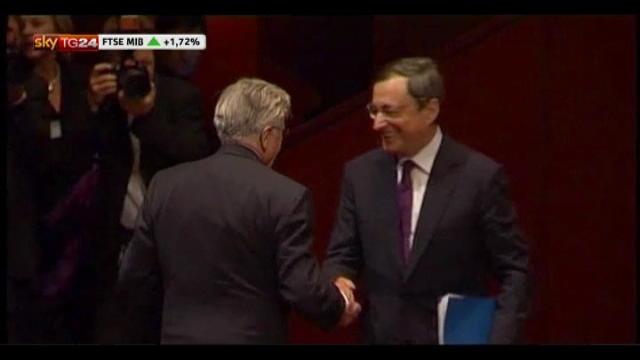 BCE, un anno fa Draghi assumeva la presidenza