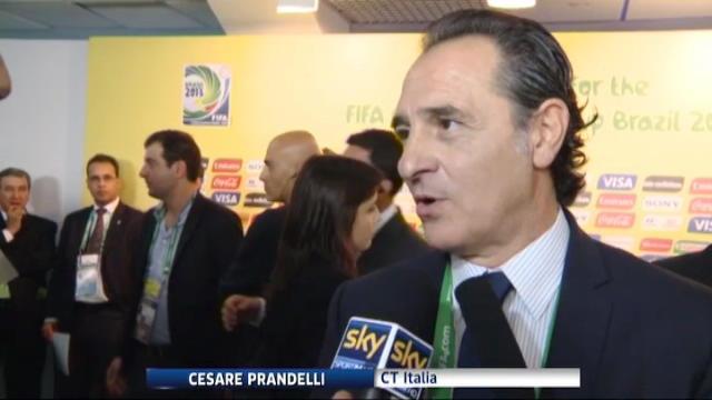 """Conf.Cup, Prandelli e Ronaldo: """"E' un girone difficile"""""""