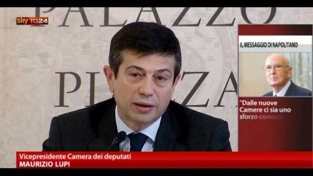 Reazioni al discorso Napolitano: Maurizio Lupi, Pdl