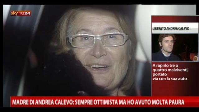 Sequestro Calevo, il commento della madre