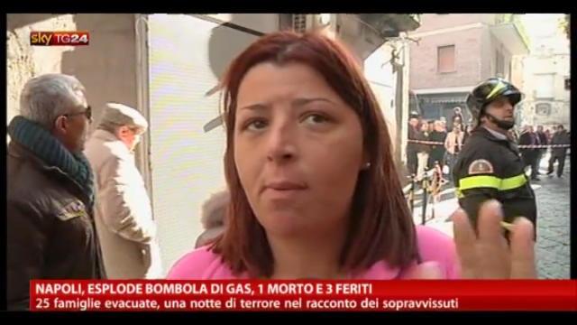 Napoli, esplode bombola di gas: 1 morto e 3 feriti