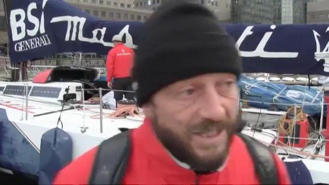 Giovanni Soldini, a 30 nodi verso Capo Horn