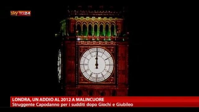 Londra, un addio al 2012 a malincuore