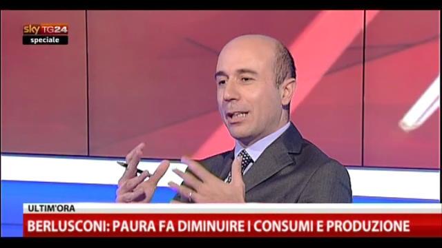 Speciale, Berlusconi a SkyTG24 (2): mio avversario è il PD