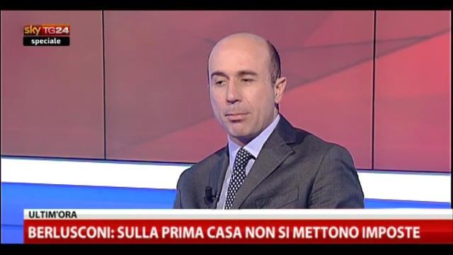 Speciale, Berlusconi a SkyTG24 (6): pressione fiscale