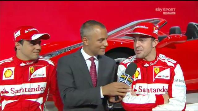 """F138, Alonso&Massa: """"E' una macchina rossa, ma anche pronta"""""""