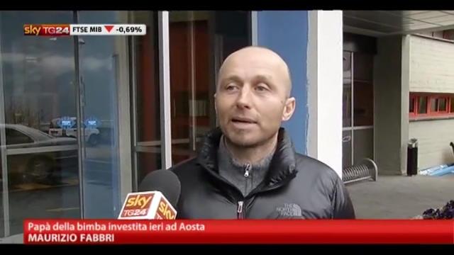 Aosta, migliorano condizioni dei due neonati investiti ieri
