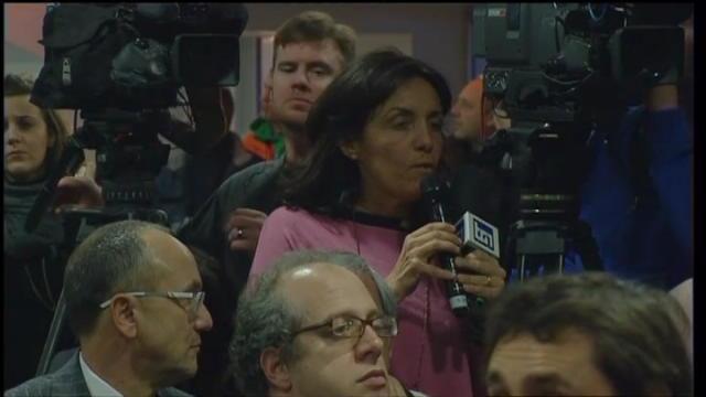 """Galliani e la giornalista: """"Mela marcia? Domanda inesatta"""""""