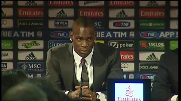 """Balotelli: """"Se segno nel derby esulto"""""""