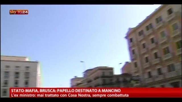 Stato-Mafia, Brusca: papello destinato a Mancino