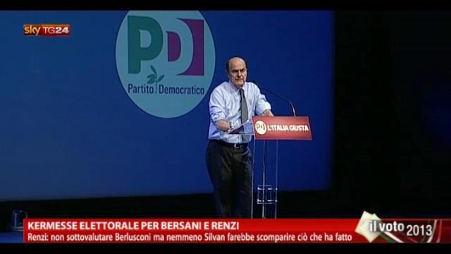 MPS, Bersani: noi non accettiamo prediche dalla destra
