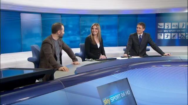 Fabio Volo a Sky Sport 24