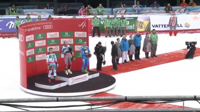 Schladming, bronzo a Manfred Moelgg nello Slalom Gigante