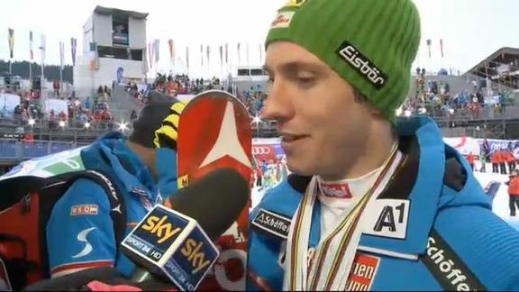 Sci, a Schadming oro di Hirscher nello slalom maschile