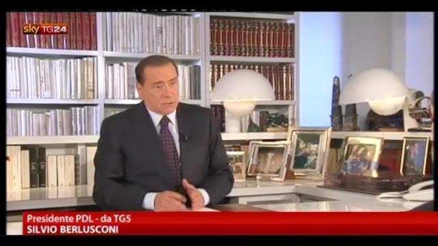 Berlusconi: auspico che non si torni al voto