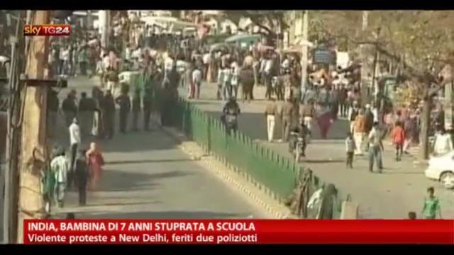 India, bambina di 7 anni stuprata a scuola