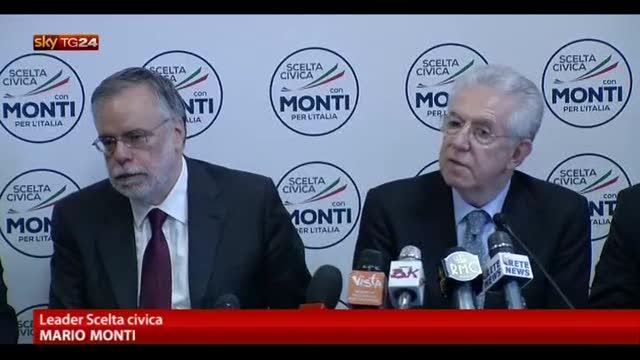 Monti: meglio voto che governo contro UE e riforme