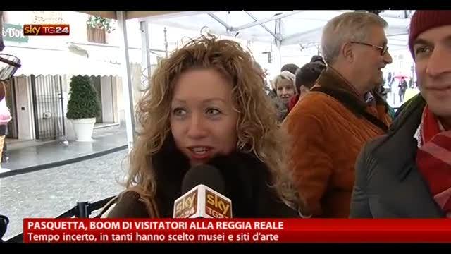 Pasquetta, boom di visite alla Reggia Reale