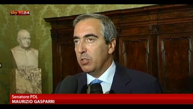 Governo, le parole di Gasparri e Moretti