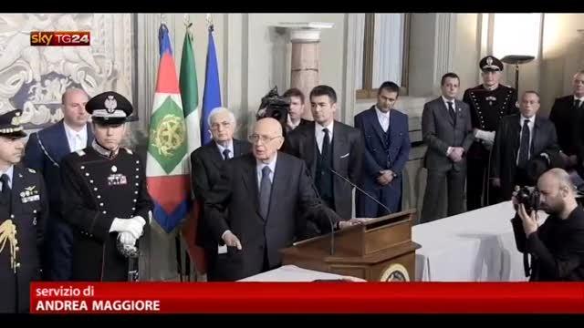 """Il Movimento 5 Stelle boccia i """"saggi"""" scelti da Napolitano"""