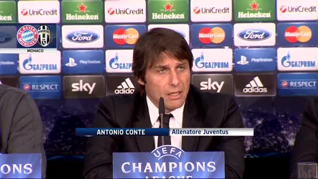 """Conte, ecco il Bayern: """"La Juve non è ai quarti per caso"""""""