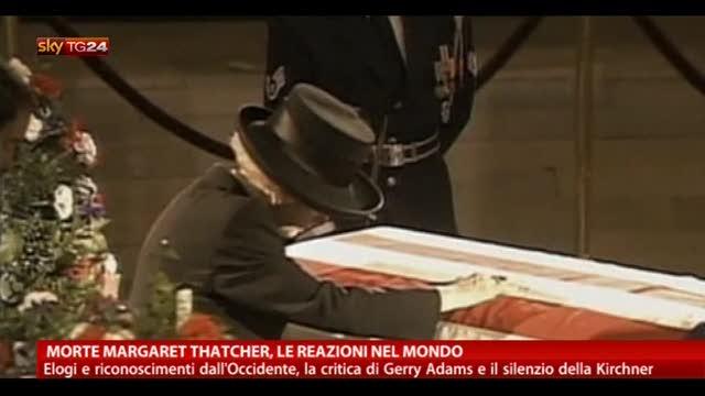 Addio a Margaret Thatcher: le reazioni nel mondo