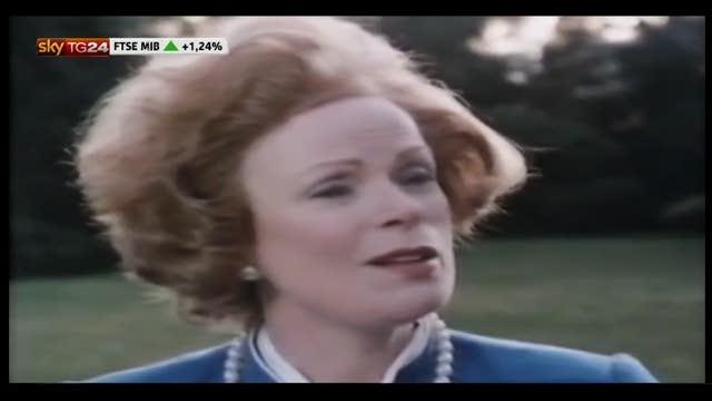 Margaret Thatcher, un rapporto difficile con gli artisti