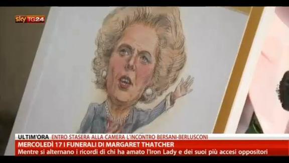 Mercoledì 17 i funerali di Margaret Thatcher