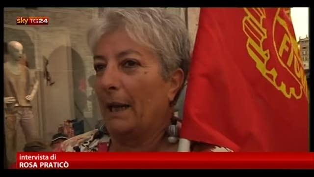 Primo maggio, a Perugia il dramma di una lavoratrice esodata