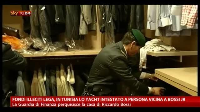 Fondi Lega, in Tunisia lo Yacht intestato a Bossi Jr