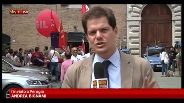 1 Maggio a Perugia per CGIL, CISL, UIL