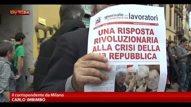 1 Maggio, a Milano sfilano esodati e precari