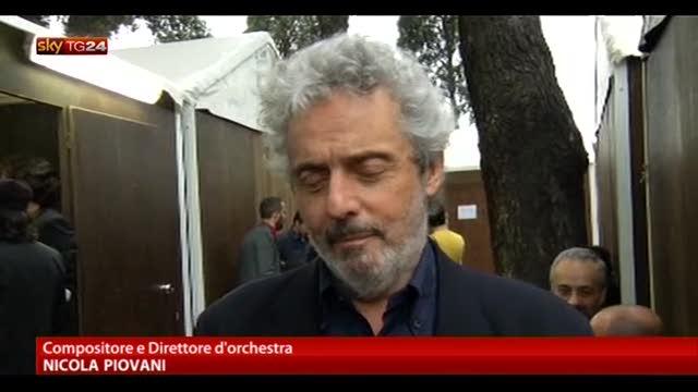 Concerto 1 Maggio, intervista al compositore Piovani