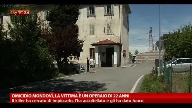 Omicidio Mondovì, la vittima è un operaio di 22 anni