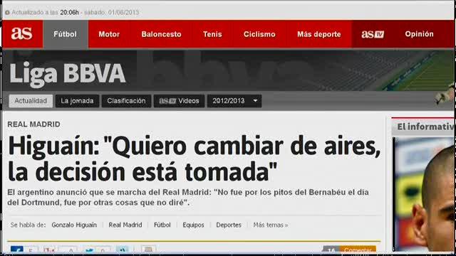 """Real Madrid, Higuaín: """"Voglio lasciare il club"""""""