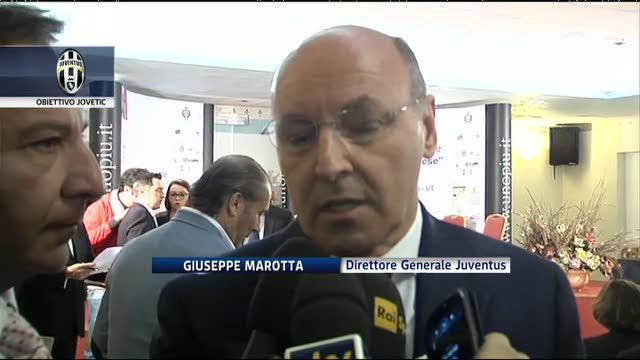 """Juve, Marotta fa il punto sul mercato: """"Obiettivo Jovetic"""""""