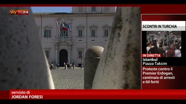Napolitano: no a inconcludenza sulla legge elettorale