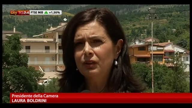 Boldrini a SkyTG24, il Papa a Lampedusa notizia bellissima