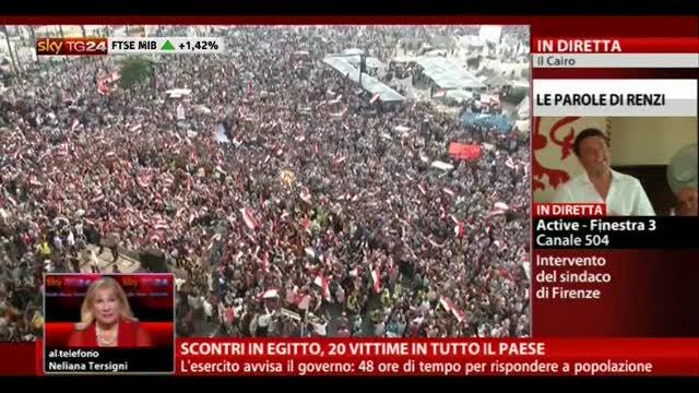 Scontri in Egitto, 20 vittime in tutto il paese