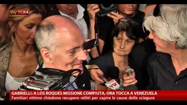 Gabrielli: a Los Roques ora tocca al Venezuela