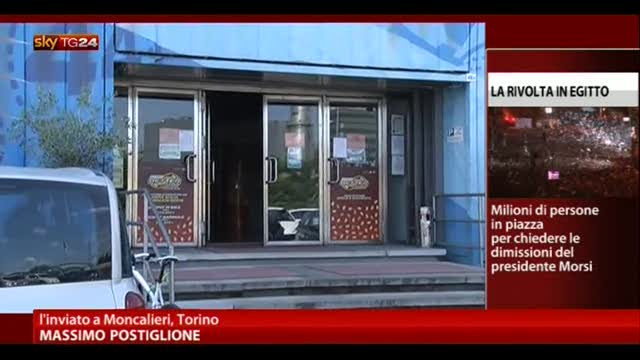 Moncalieri, rapina a portavalori davanti a sala Bingo