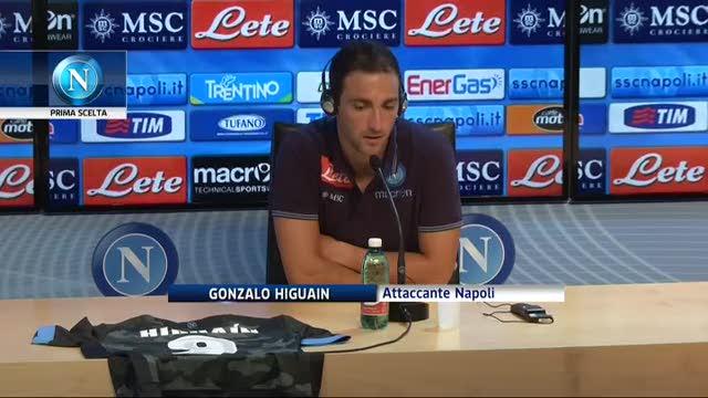 """Higuaín in conferenza stampa: """"Convinto dal progetto"""""""