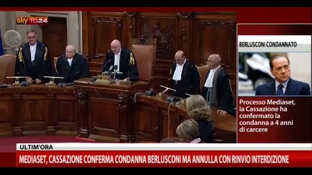 Processo Mediaset, la lettura della sentenza
