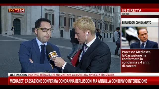 Sentenza Mediaset, le parole di Danilo Leva (PD)