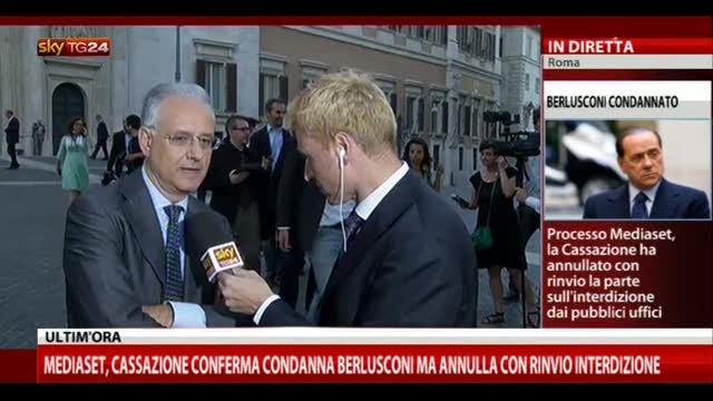 Sentenza Mediaset, le parole di Susta (Scelta Civica)