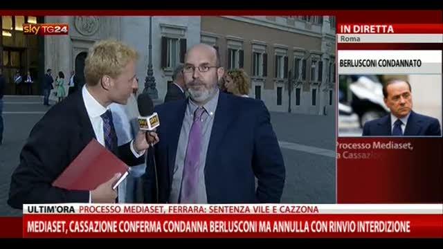 Sentenza Mediaset, le parole di Vito Crimi (M5S)