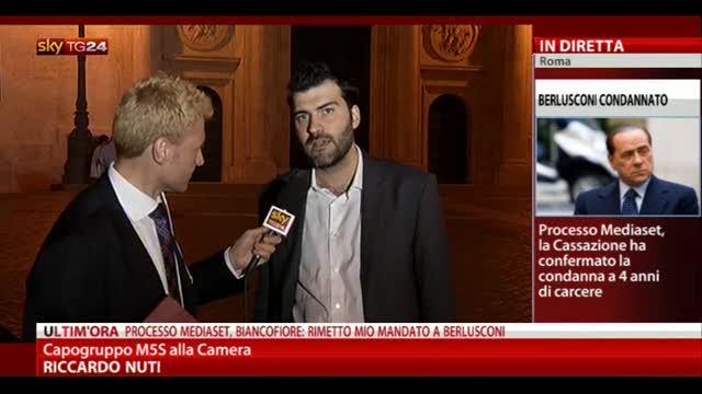 Sentenza Mediaset, le parole di Riccardo Nuti (M5S)