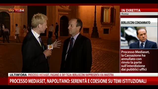 Mediaset, intervista ad Andrea Mazziotti (Scelta Civica)